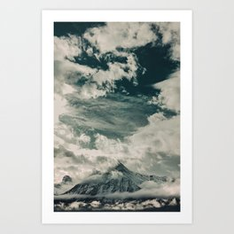 Cloud Mountain in the Canadian Wilderness Art Print