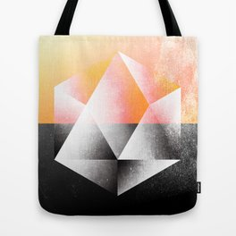 Sacred Geometry Five Tote Bag