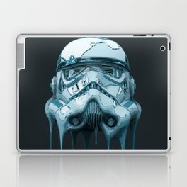 Stormtrooper Melting Dark Laptop & iPad Skin