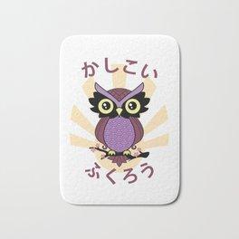 Wise owl Bath Mat