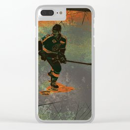 The Game Changer - Ice Hockey Tournament Clear iPhone Case