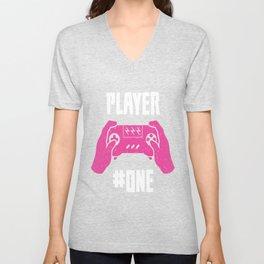 Player One Unisex V-Neck