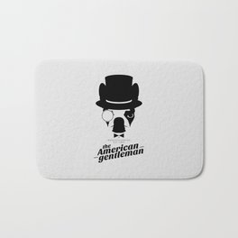 Boston Terrier: The American Gentleman. Bath Mat