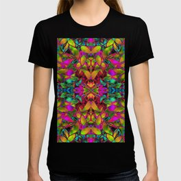 Fractal Floral Abstract G285 T-shirt