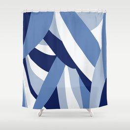 Pucciana Blue Shower Curtain