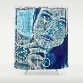 Slave Girl Shower Curtain