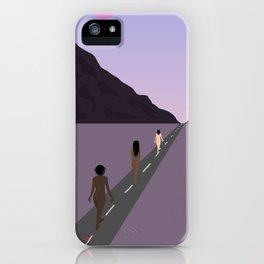 Walk Together iPhone Case