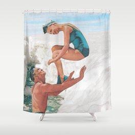 melt away Shower Curtain
