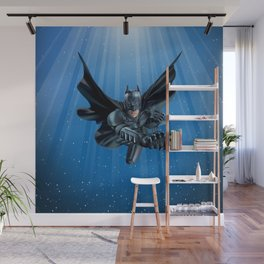 Winged Man Wall Mural