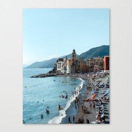 Bay of Camogli, Liguria, Italy | Europe Travel Photography Art Print Canvas Print