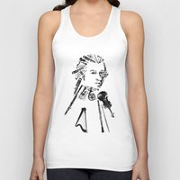 mozart Tank Tops featuring Wolfgang Amadeus Mozart by bananabread