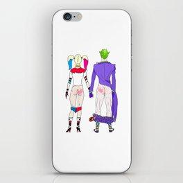 LOVE is no BUTT Joke iPhone Skin
