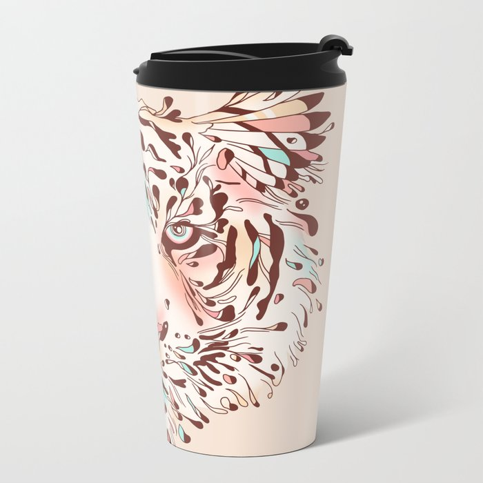 Untamed Memory Metal Travel Mug