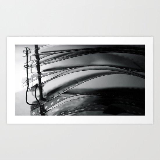 Negatives Art Print