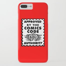 Approved by the Comics Code iPhone Case