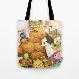 Secret | Children's illustration Tote Bag