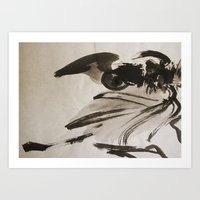 Ming's Dragon Art Print