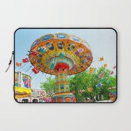 National Cherry Festival - Traverse City, Michigan - Arnold Amusements Laptop Sleeve