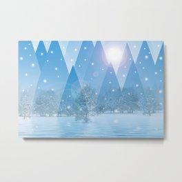 Magic Winter 54 Metal Print