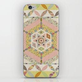Norfolk Island Quilt iPhone Skin