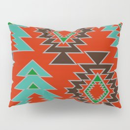 Navajo with pine trees Pillow Sham