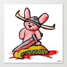 Bunny the Krakenslayer Canvas Print