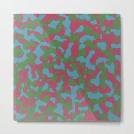 Hippie Camouflage Metal Print