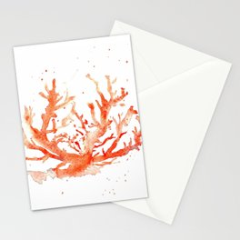 The Coral of Sciacca Stationery Cards