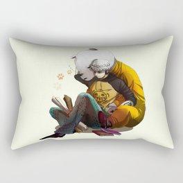 One Piece Trafalgar Law & Bepo Rectangular Pillow