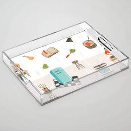 Cooking Mama Acrylic Tray