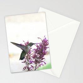 Feeding hummingbird 63 Stationery Cards