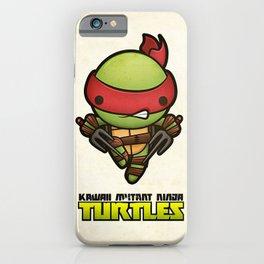 Raphael - Kawaii Mutant Ninja Turtles iPhone Case
