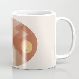Abstraction Landscape 3 Camping Coffee Mug