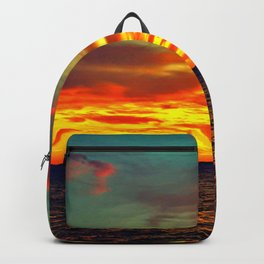 Fire Sunset Backpack