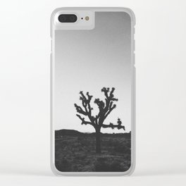 JOSHUA TREE IX Clear iPhone Case