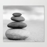 zen Canvas Prints featuring Zen by Anne Seltmann