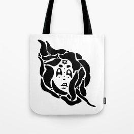 earth spirit (bw) Tote Bag