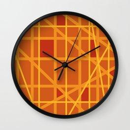 Abstract DW Wall Clock