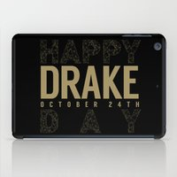 birthday iPad Cases featuring Birthday by October's Very Own