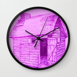 Lilac New World Wall Clock