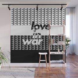love in war Wall Mural