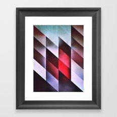 glyss mntz Framed Art Print