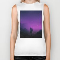 not all who wander are lost Biker Tanks featuring Not all those who wander are lost  by Stoian Hitrov - Sto