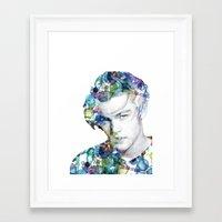 leonardo dicaprio Framed Art Prints featuring Young Leonardo DiCaprio  by NKlein Design