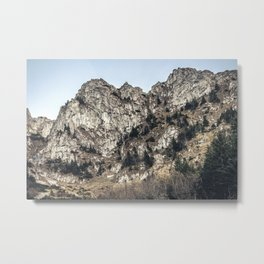 Autumn Tatra Mountain | Slovakian Mountain Range | Cold Morning Mood | Travel Photography | Travel | Moody | Nature | Foggy | Misty Metal Print