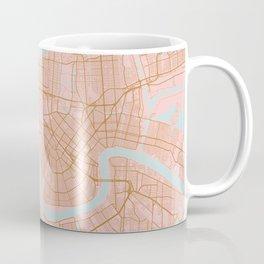 New Orleans map, Lousiana Coffee Mug