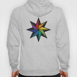 Geometric star #2 - to wear Hoody