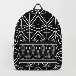 "Art Deco . No. 17 ""mirabelle 2 "" Backpack"