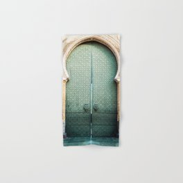 Door of Cathedral Mezquita of Cordoba, Andalucia Hand & Bath Towel