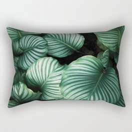 Tropical Palm Tree Plants Rectangular Pillow